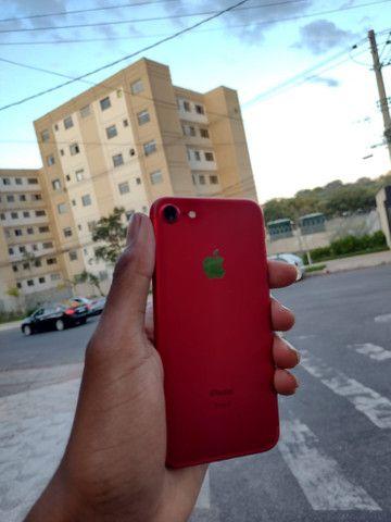 iPhone 7red 128gb bateria 96% - Foto 3