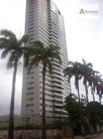 Apartamento residencial à venda, Caxangá, Recife.