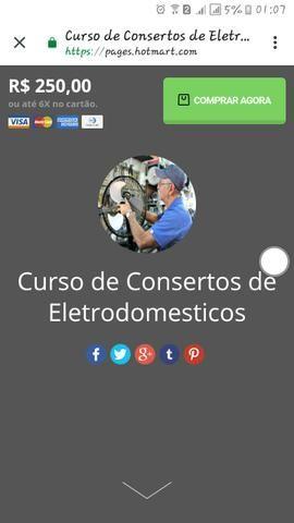 Venha fazer nosso curso de consertos de eletrodomestico !!!