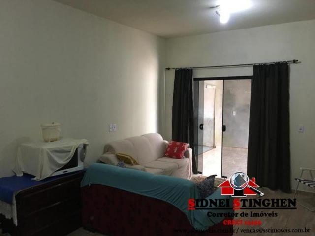 Casa na Praia, 02 dormitórios, laje, piso cerãmico e terreno todo murado - Foto 6