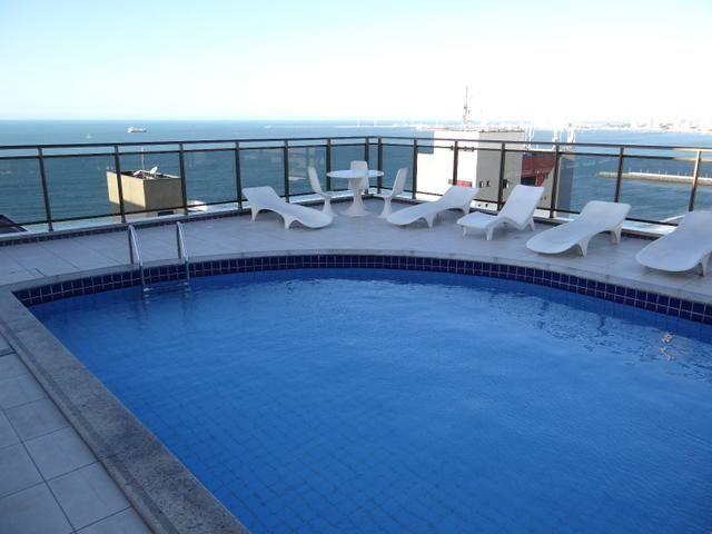 Apartamento disponivel por Temporada na Praia de Iracema Fortaleza Ce. Vista 100% mar - Foto 3
