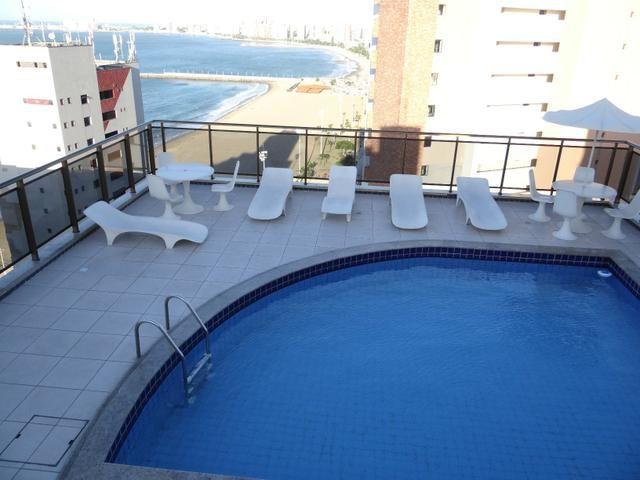 Apartamento disponivel por Temporada na Praia de Iracema Fortaleza Ce. Vista 100% mar - Foto 2