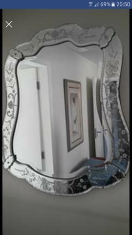 Espelho Veneziano original Bizotado