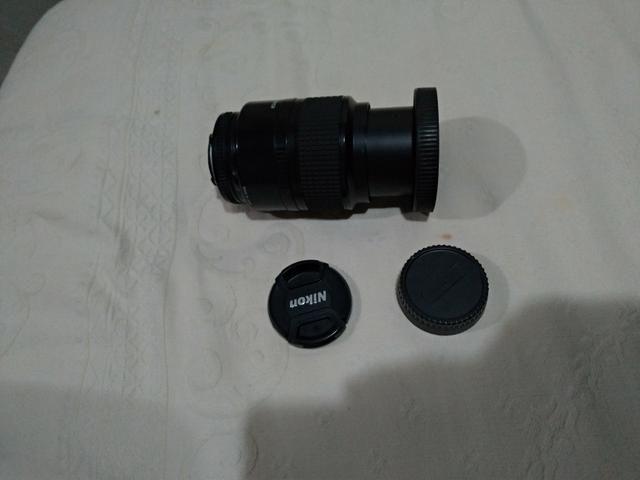 Lente Nikon vendo ou troco celular,PS4, Xbox, notebook etc. faça sua proposta - Foto 4