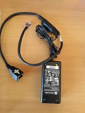 Telefone Polycom Soundstation Ip6000 para audio conferência - Foto 2