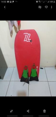 Vendo um bodyboard e um pé de pato 400 reais negóciavel!! - Foto 2