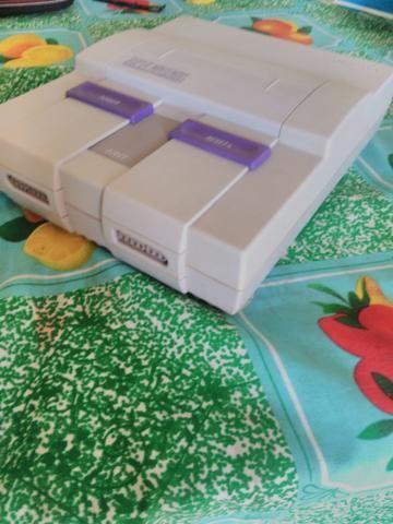 Super Nintendo com fita Top Gear 1 - Foto 2