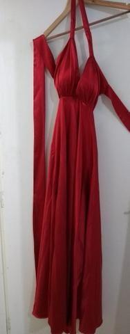 Vestido de Festa Longo Vermelho 44/46