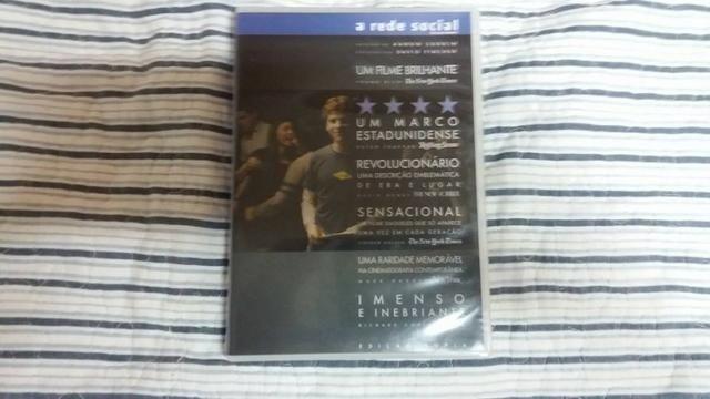 DVD filme A Rede Social