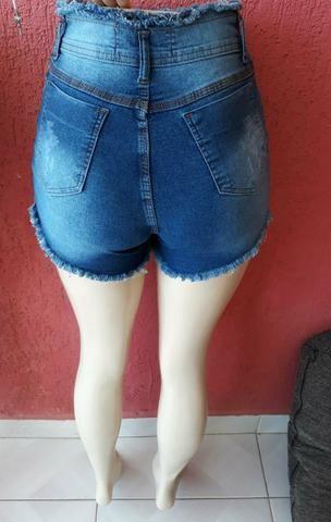Shorts Jeans com Lycra de 3% - Foto 2