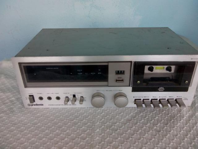 Tape deck gradiente cd4000