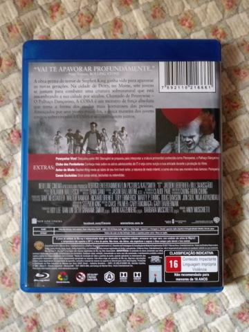 It - Blu Ray Disc - Com Cenas Extras - Foto 2