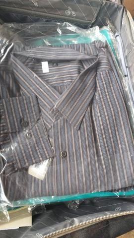 Camisa social plus size 7