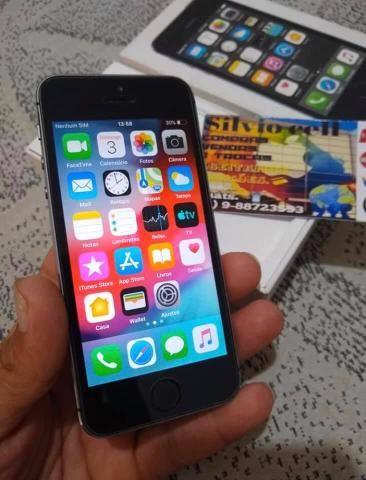 Vendo ou troco esse iPhone 5s com volta do interessado 16g - Foto 4