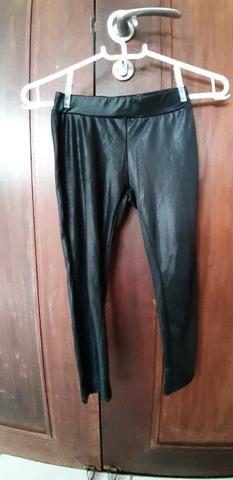 Calça leg da Zara, tam 6 anos ($ 25)