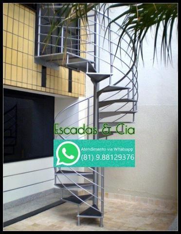 Fabricação de Escada Caracol, Escada Reta e Fundição em geral
