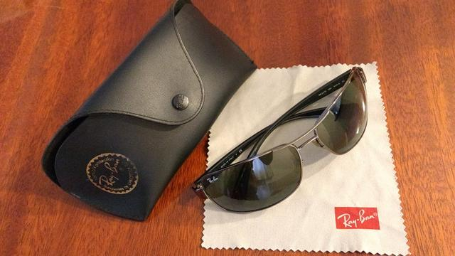 Óculos Ray Ban lentes G-15 - Bijouterias, relógios e acessórios ... c203ae8ded