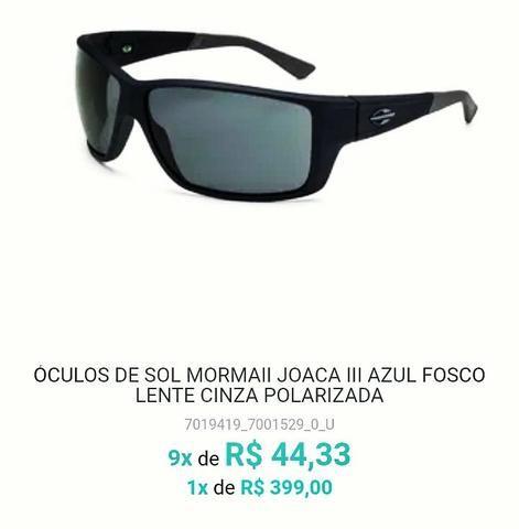 Óculos Mormaii Original Lente polarizada - Bijouterias, relógios e ... 96e5ce69fa