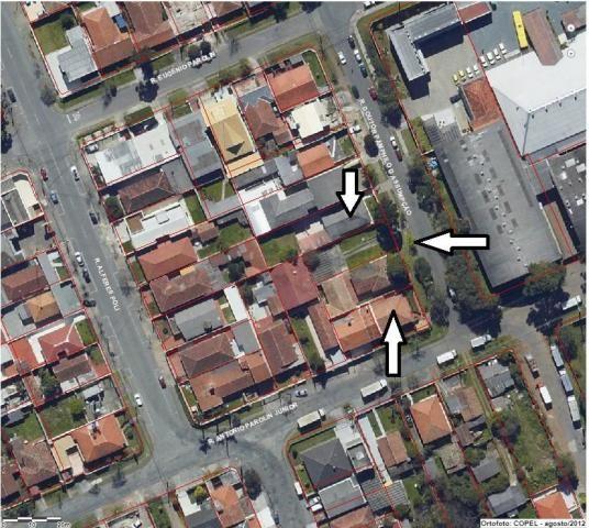 Terreno para alugar, 744 m² por R$ 2.800,00/mês - Rebouças - Curitiba/PR