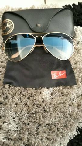 Óculos de Sol Rayban Aviator Original - Bijouterias, relógios e ... e0a1d3d69c