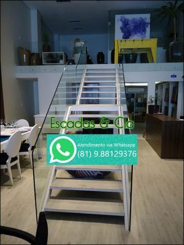 Fabricação de Escada Caracol, Escada Reta e Fundição em geral - Foto 4