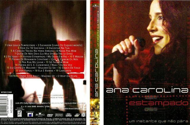 ana carolina estampado dvd-r