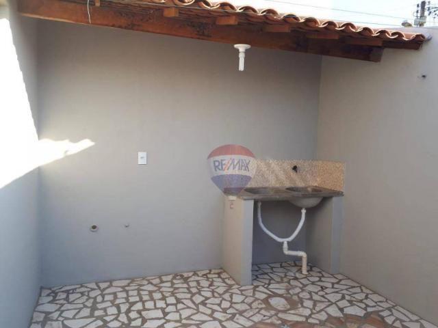 Casa com 2 dormitórios para alugar por R$ 500,00/mês - Tiradentes - Juazeiro do Norte/CE - Foto 5