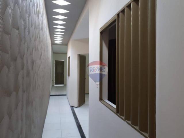 Casa com 2 dormitórios para alugar por R$ 500,00/mês - Tiradentes - Juazeiro do Norte/CE - Foto 2