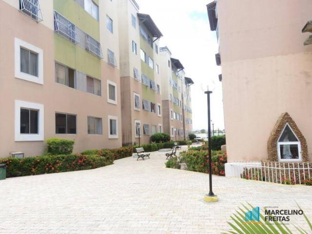 Apartamento com 2 dormitórios para alugar, 45 m² por R$ 909,00/mês - Parque Tabapua - Cauc - Foto 15