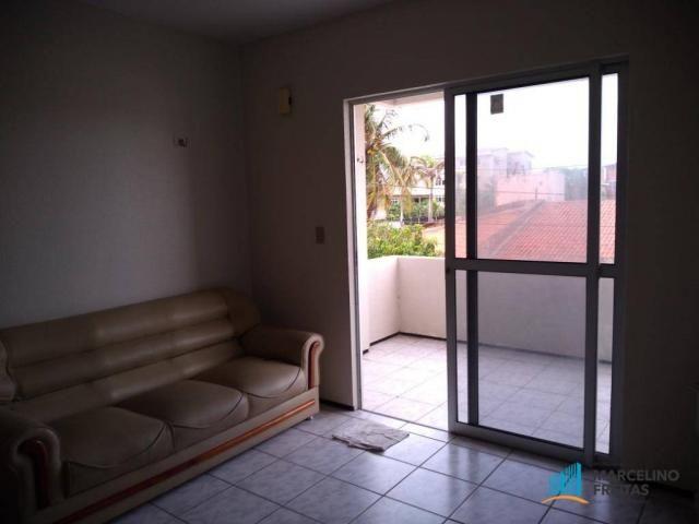 Apartamento com 3 dormitórios para alugar, 80 m² por R$ 859,00/mês - Icaraí - Caucaia/CE - Foto 10