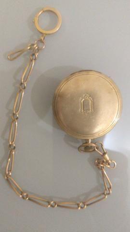 Relógio De Gibeira em ouro, marca Paragon