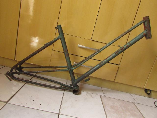 Bike bicicleta quadro Odomo Feminino 26 antigo - Foto 3