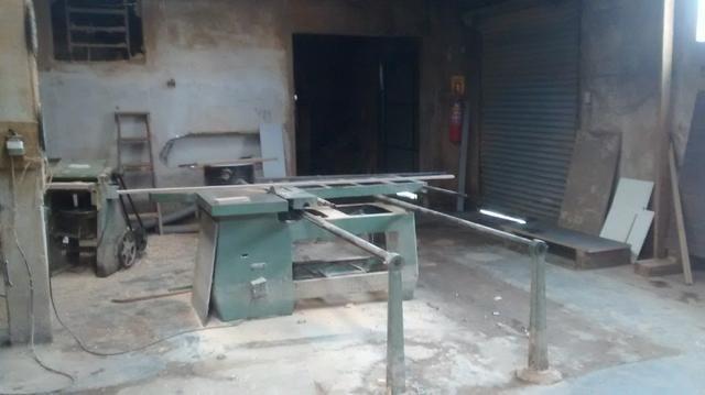 Barracao aluga-se com maquinaria para fabrica de moveis