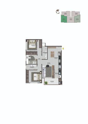 Apartamento Residencial Lucas - Areias - São José/SC - Foto 3
