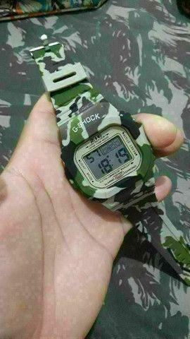 Relógio militar camuflado 40 unidades ou 3 p 100 - Foto 3