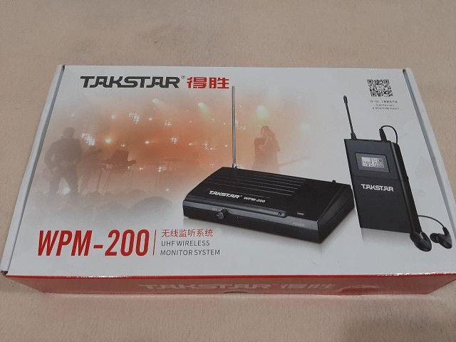 Takstar wpm 200 com dois receptores - Foto 5