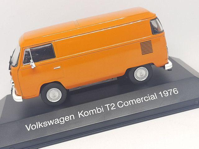 Miniatura Kombi T2 comercial 1976 1/43 - Foto 2