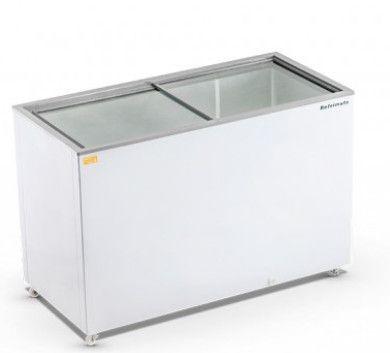 Roan - Freezer Horizontal 420 Litros Tampa de Vidro Refrimate - FHR420V