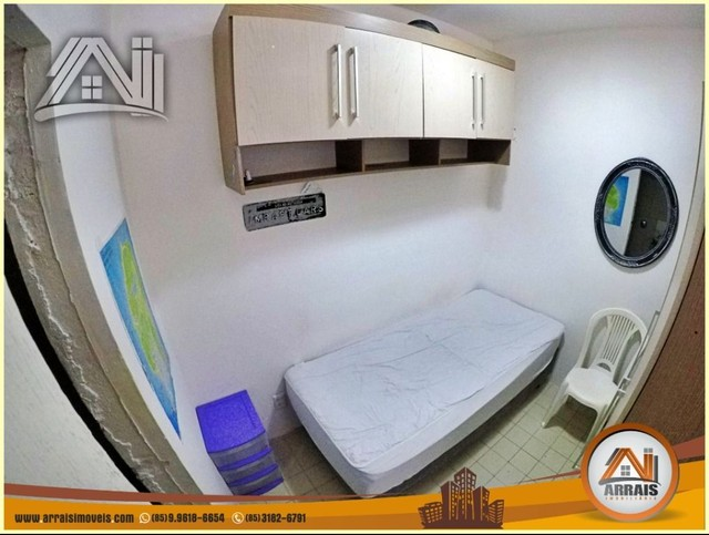 Apartamento com 3 dormitórios à venda, 96 m² por R$ 280.000,00 - Vila União - Fortaleza/CE - Foto 5