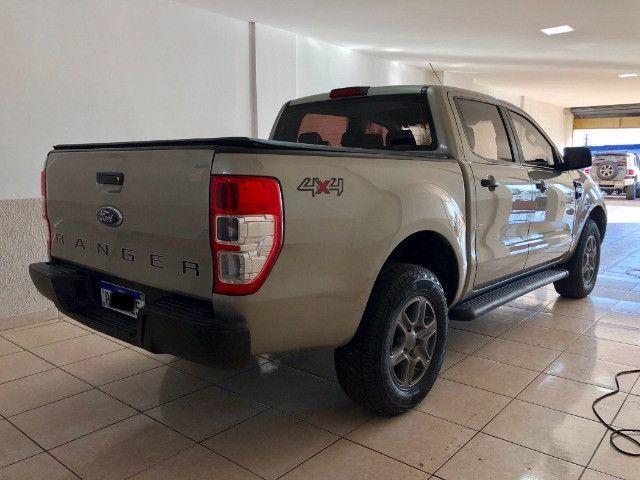 Ranger 2.2 XLS 4x4 Diesel (aut) revisões na concessionária 2021 pago - Foto 4