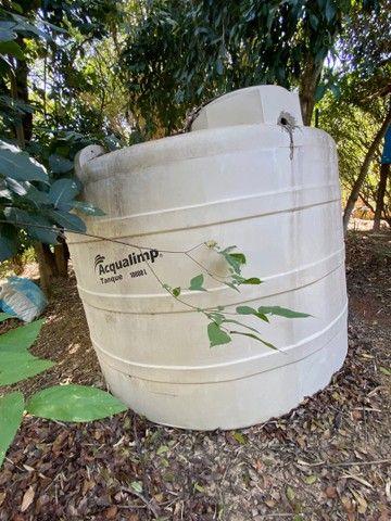 Tanque caixa de água