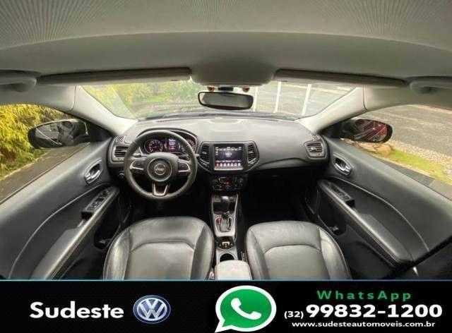 COMPASS 2017/2018 2.0 16V FLEX LONGITUDE AUTOMÁTICO - Foto 8