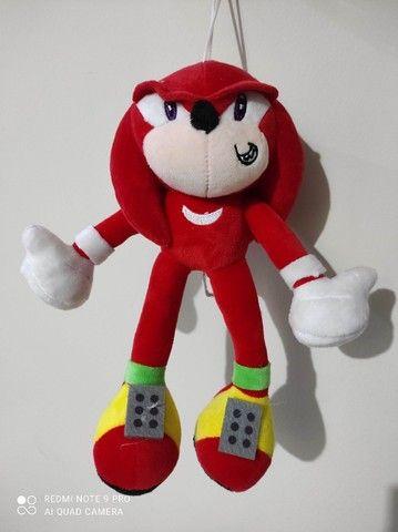 Turma do Sonic - KNUCKLES