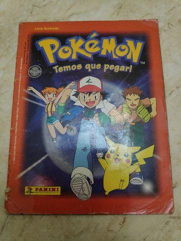 Álbum Pokémon - Temos que pegar Completo