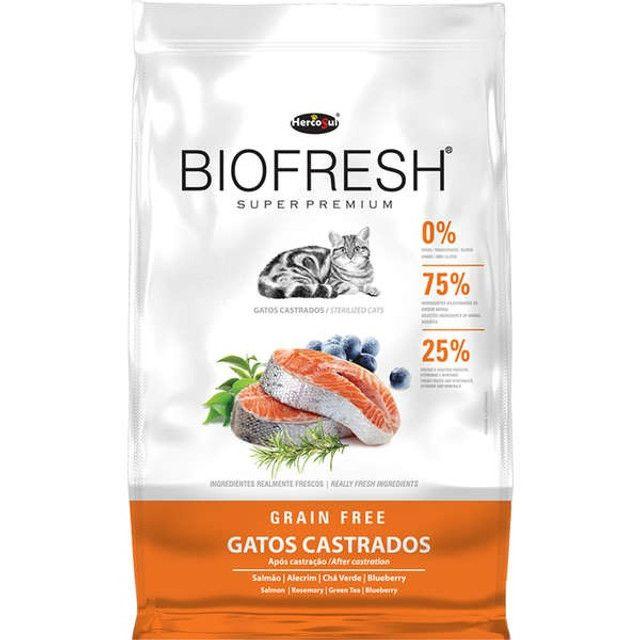Ração Biofresh Gatos Super Premium 1,5kg Escolha o Tipo - Foto 2