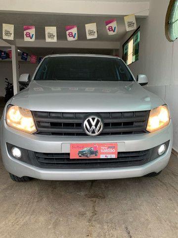 Amarok 4x4 diesel aceito financiamento pelo banco  - Foto 3