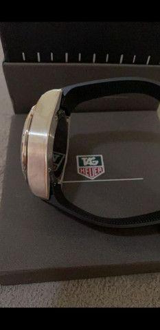 Relógio Tag Heuer Mercedes Benz SLS Top de Linha a prova d'água Completo - Foto 4