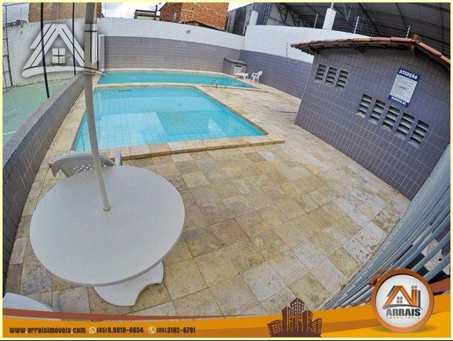 Apartamento com 3 dormitórios à venda, 96 m² por R$ 280.000,00 - Vila União - Fortaleza/CE - Foto 18