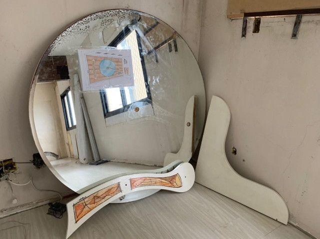 Painel de Arte, espelho, tela e prateleira  - Foto 2