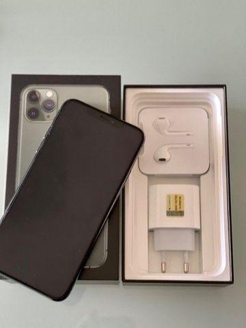 iPhone 11 Pro Max 256 Gb Verde, Estado De Novo, Bateria 96 - Foto 6